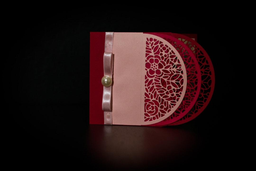 invitatie botez simon 3 nuante roz - invitatii nunta personalizate-grand-media.ro